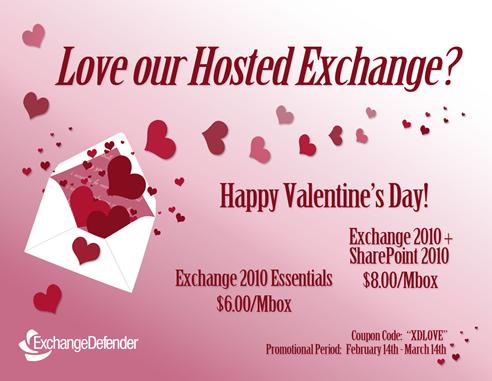 Valentine's Promotion Postcard