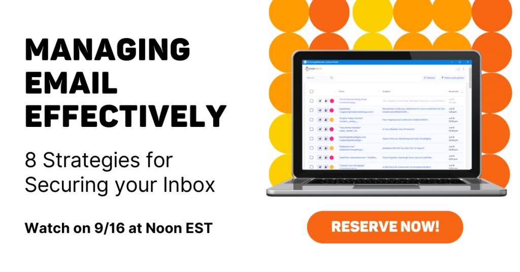 email authorization webinar